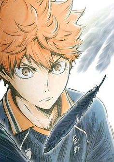 Hinato from Karasuno ||Haikyuu ||Anime sport