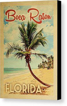 Boca Raton Florida Palm Tree Canvas Print / Canvas Art by Flo Karp Boca Raton Beach, Boca Raton Florida, Usa Roadtrip, Tree Canvas, Canvas Art, Florida Palm Trees, Eleuthera Bahamas, Key West Style, Vintage Florida