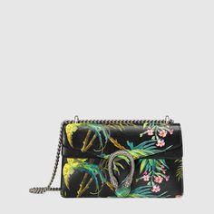 Gucci Borsa a spalla Dionysus con stampa tropical
