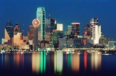 Dallas because that is where my momma and dad live!
