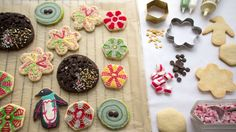Holiday guests will gravitate toward these physics cookies.