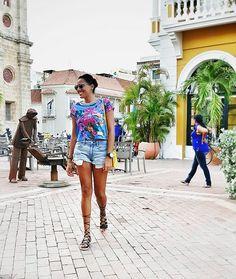 Out and about #cartagena  Sunday mode! #fashion #blogger #mystyle #styleblogger #lifestyleblooger #lacreativitablog