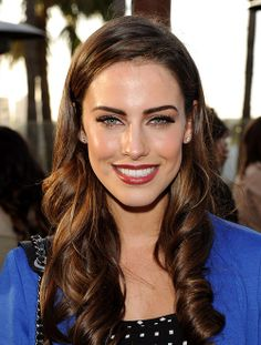 Jessica Lowndes - perfectly elegant makeup and hair