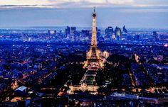 Paris, Tour Eiffel  Eiffeltower from Montparnasse. By NikitaDB.  https://instagram.com/p/0n-EL9lMtO/
