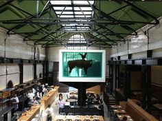 Tramshed - Listed building converted into Mark Hix's latest restaurant - London, United Kingdom - 2012 - Waugh Thistleton Architects