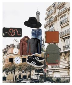 """""""Untitled #160"""" by estersc on Polyvore featuring Dsquared2, Wilsons Leather, adidas Originals, Patek Philippe, Burberry, Ray-Ban, Gucci, Lack of Color, men's fashion and menswear"""