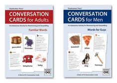 CONVERSATION CARDS – Two-Deck Set