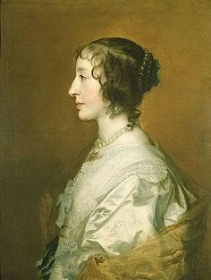 1639 Henrietta Maria by Sir Anthonis van Dyck This van Dyck of Queen Henrietta Maria shows that lace making was making great strides in the early 1600s.