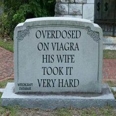 His Wife Took it Hard...