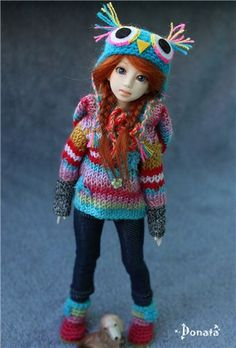 Студенческая ночь с Кинко, Nano Haruka на теле Pure Neemo Azone XS / BJD - шарнирные куклы БЖД / Бэйбики. Куклы фото. Одежда для кукол