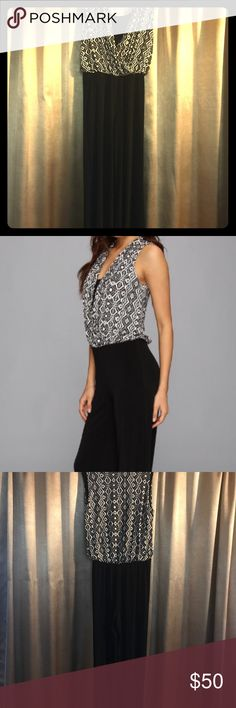 Selling this Karen Kane Palazzo jumpsuit on Poshmark! My username is: bvicky24. #shopmycloset #poshmark #fashion #shopping #style #forsale #Karen Kane #Pants