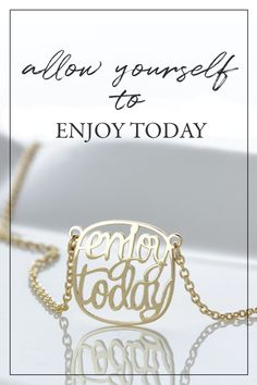 Personalized-personalised-custom-necklace-Enjoy-today-happiness-quote