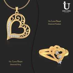 Buy Gold And Diamond Jewellery Online At Iskiuski.Com - Best Online Jewellery Store In India!!Check Out Our Latest Collection Of Diamond Rings, Pendant, Earrings And Other Indian Jewellery..#DiamondRings #GoldRings #Rings #IskiUski #Pendants #DiamondPendants #Earring #DiamondEarring #GoldEarring