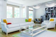 modern minimalist white living room design gallery