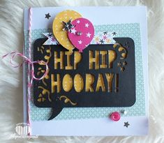Magical Scrapworld: Hip Hip Hooray, balloon bouquet punch, cards, it's my party, party pop-up, spring catalogue 2016, Stampin' Up!,