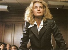 Jessica Lange as Frances Farmer.