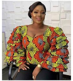 African Tops For Women, African Dresses For Kids, African Fashion Ankara, Latest African Fashion Dresses, African Dresses For Women, African Attire, Latest Ankara Styles, Ankara Dress Styles, Ankara Tops