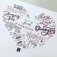 ᴹᴱ-ᴱᴬᴿᴬ ♡♡♡♡♡♡♡♡♡♡♡♡♡♡♡♡♡♡ . bts army album map of the soul: persona . Bullet Journal Art, Bullet Journal Inspiration, Bts Book, Bts Wallpaper Lyrics, Bts Tattoos, Sketch Note, Kpop Diy, Kunstjournal Inspiration, Bts Lyric