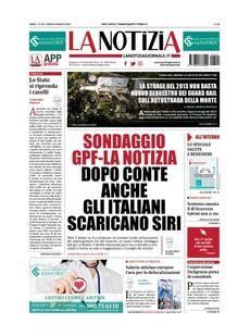Prima Pagina La Notizia Edizione Precedente Giornalone Notizie App Immagini