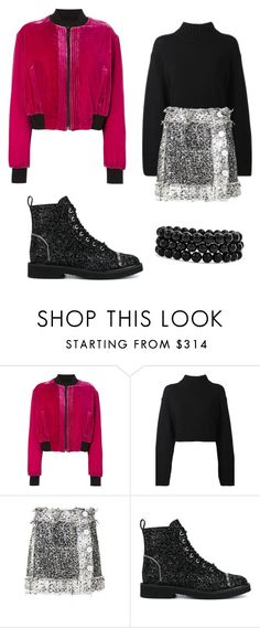 """""""Untitled #698"""" by collettesworldoffashion ❤ liked on Polyvore featuring County Of Milan, DKNY, Christopher Kane, Giuseppe Zanotti and Bling Jewelry"""