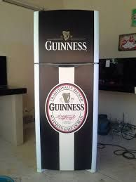 Man Cave Beer Fridge, Refrigerator Wraps, Mancave Ideas, Custom Paint, Restoration, Projects To Try, Kitchen Appliances, Art, Stickers