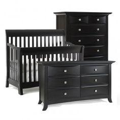 Black Crib Nursery On Pinterest
