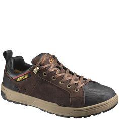 73915 Caterpillar Men's Brode Work Shoes - Espresso