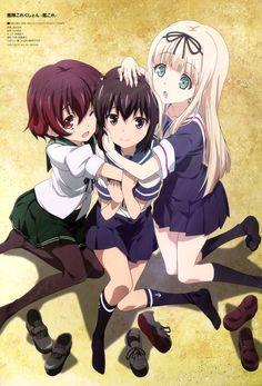 Fubuki, Mutsuki & Yuudachi