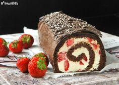 Biscuit de chocolate con fresas - L´Exquisit
