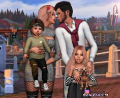 Family #2. ❤ This pose pack including 1 pose.•  Tag me and follow me Zairah.sim on instagram, so i can see you. •  You'll need Pose player. •  You'll need Sims Teleporter. •  Please do not reupload my...