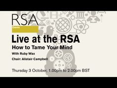 Watch Live: How to Tame Your Mind starts at 6:30