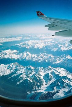Over the Alps (by kohsah).. Swiss, Airbus