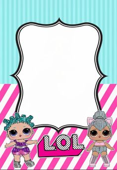 The centerpiece at this LOL Surprise Dolls birthday party i - Her Crochet 6th Birthday Parties, Girl Birthday, Invitation Fete, Lol Doll Cake, Doll Party, Birthday Invitations Kids, Lol Dolls, Peter Piper, Rsvp