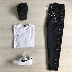 Behind The Scenes By fvshionhub Dope Outfits For Guys, Stylish Mens Outfits, Cute Swag Outfits, Tomboy Outfits, Casual Outfits, Tomboy Fashion, Winter Fashion Outfits, Fashion Pants, Hype Clothing