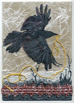 collagraph plate no.1 by rightside, via Flickr