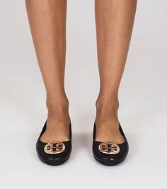 64d2f0553ab7c3 Visit Tory Burch to shop for Minnie Travel Ballet Flat