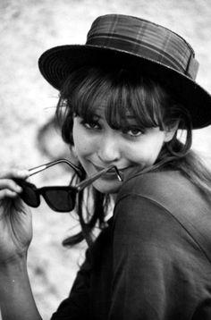 Anna Karina #vintage #fashion #icon