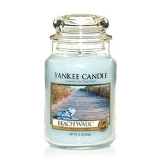 Beach Walk® large jar candle