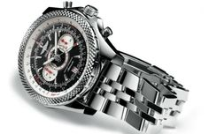 10 of the Hottest High-End Car-Inspired Watches - In my opinion, the Bentley Continental Supersports is the definition of luxury blending in perfect harmony with power and performance. Bottling that special balance in a watch is no small task, but Breitling manages it with the Supersports watch introduced at Baselworld 2010.