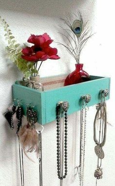 Awesome! A drawer for hanging stuff on and putting stuff in! Cool for a bathroom...