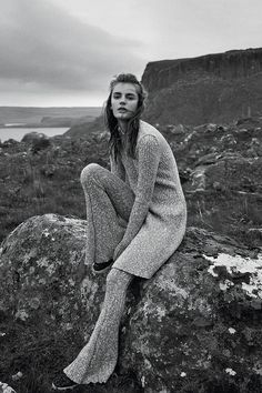 Paradise Isle - Céline Knits for Fall 2014 - ELLE US September 2014