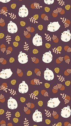 #molang #fall #wallpaper