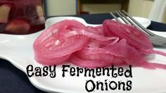Lacto-fermented onions are an easy and delicious way to get good things into your body, and more specifically, your gut. With lacto-fermented foods, you get all the benefits of the raw food itself (whether fruit or vegetable), while at the same time adding probiotics that will help you to have a healthy digestive system.These onions are really easy to ferment, and they only take one or two weeks. When you're done, you'll have a nice condiment to add to your salads or sandwiches. Or se...