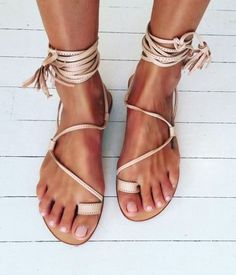 Loving these sandals! Perfect for summer and so unique! We already have outfits in our head to go with these shoes!