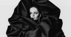 Veruschka in Balenciaga, photo by Irving Penn Vogue, 1967.