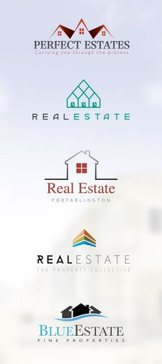 #real #estate #logo #design: