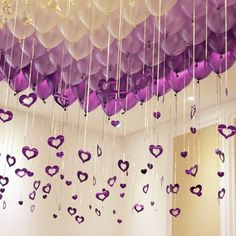 Looking Great For Valentine's Day – Valentine's Day Tips Valentines Day Party, Valentines Day Decorations, Birthday Party Decorations, Wedding Decorations, Purple Party Decorations, Wedding Favors, Party Favors, Wedding Balloons, Birthday Balloons