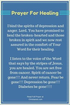 When you need healing, pray Bible Verses back to God. When we come into agreement with what God has already said and trust Him to do as He has said He will do, we know we are within God's will. Healing Scriptures, Healing Words, Prayers For Healing, Prayer Scriptures, Bible Prayers, Faith Prayer, God Prayer, Power Of Prayer, Prayer Quotes