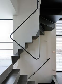 Cramped Or Not I Want To Live in These Tiny Japanese Houses Modern Staircase Cramped Houses Japanese live Tiny Staircase Handrail, Stair Railing Design, Staircases, Stairs Architecture, Interior Architecture, Steel Stairs, Narrow House, Modern Stairs, Interior Stairs