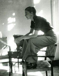 Swiss writer and photographer Annemarie Schwarzenbach, 1930s